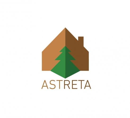 astreta logo design - wedesign360.com - design agency