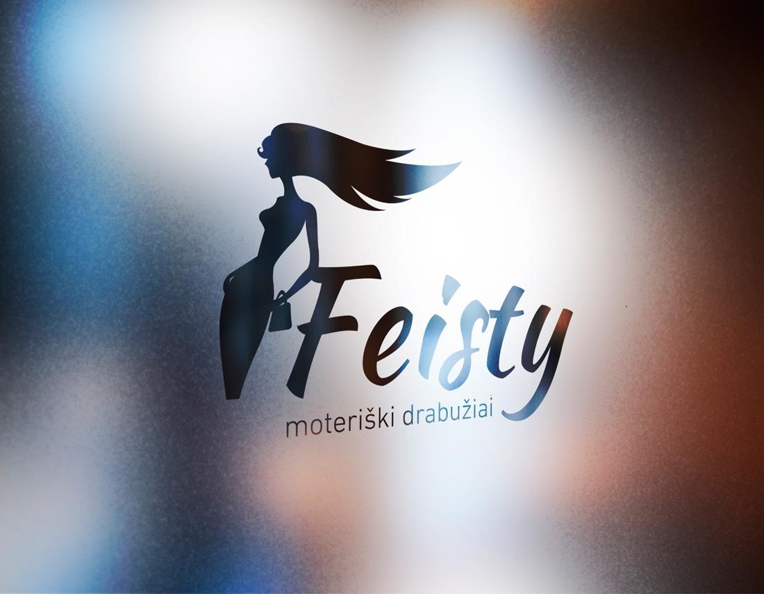 feisty company logo & print design - wedesign360.com - design agency