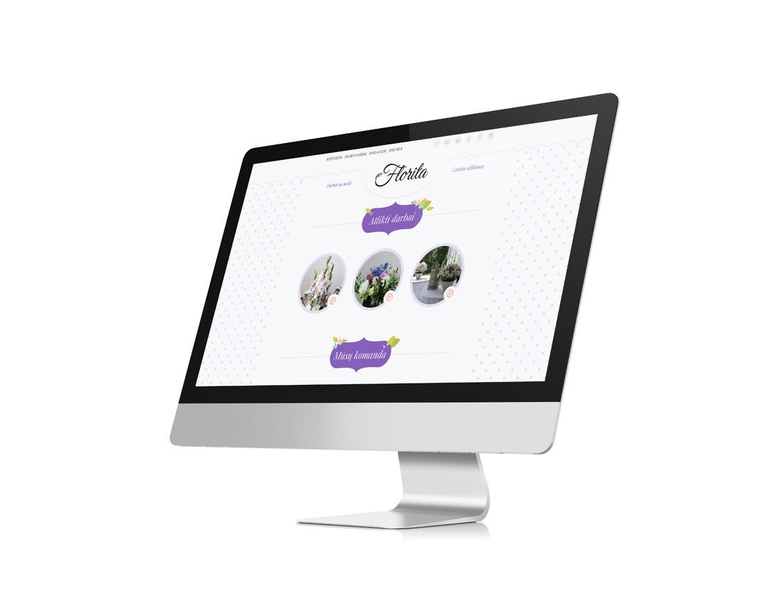florita company website design - wedesign360.com - design agency