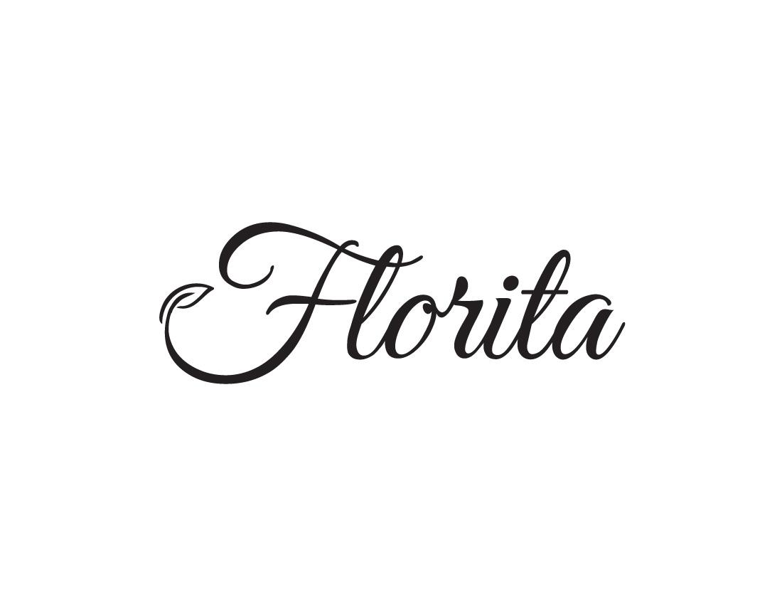 Florita company logo design - wedesign360.com - design agency