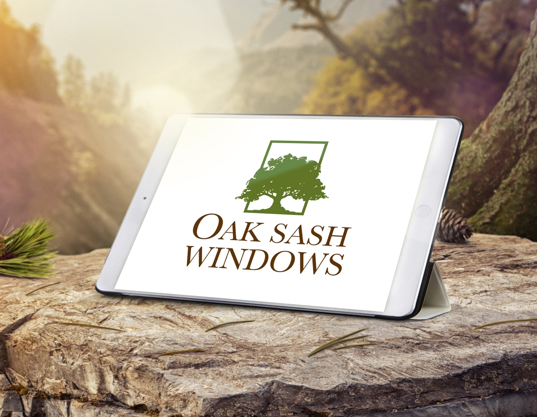 oak sash windows company print design - wedesign360.com - design agency