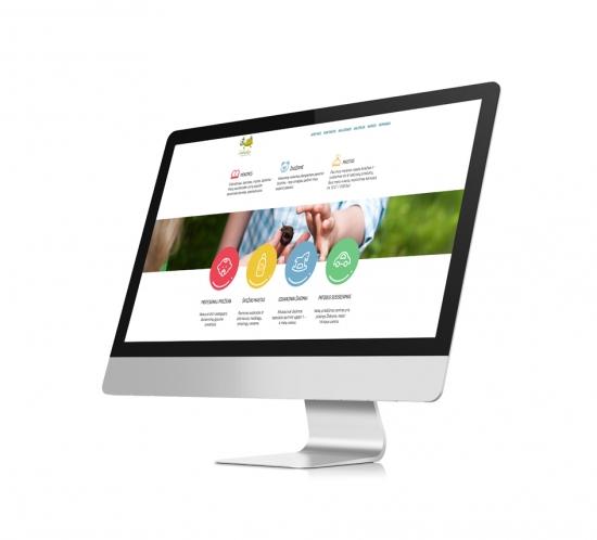 vezliukas company website design - wedesign360.com - design agency