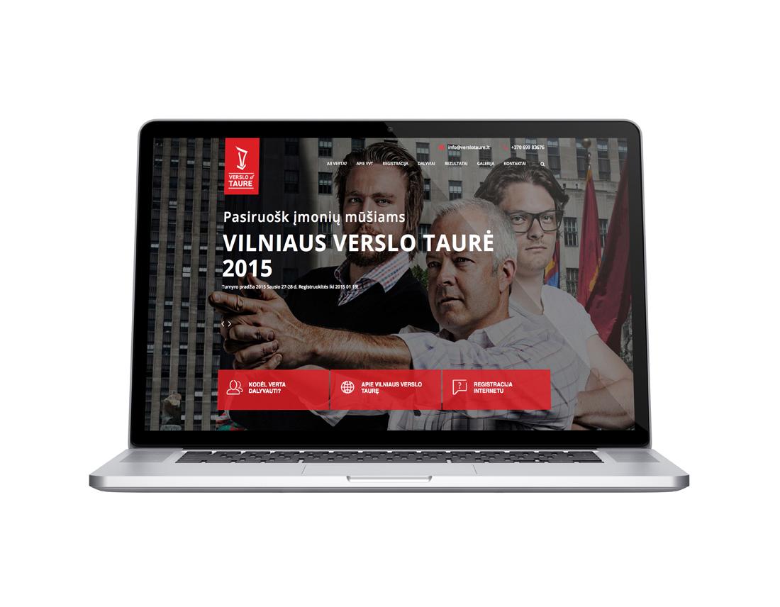 verslo taure website design - wedesign360.com - design agency